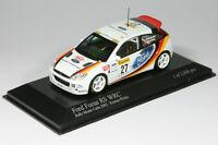1:43 Ford Focus RS WRC - Armin Kremer - Rallye Monte Carlo 2002 - Minichamps