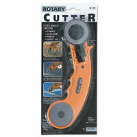 Rotary Cutter 45mm Or Spare Cutters Cuts Fabric Leather Paper Vinyl
