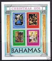 Bahamas 1976 Christmas MS SG 487 MNH