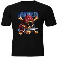 T-Shirt Chopper Pirat Cool Biker S M L XL XXL XXXL