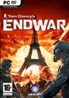 TOM CLANCYS END WAR (EXCLUSIVE) PC *NEW & SEALED*