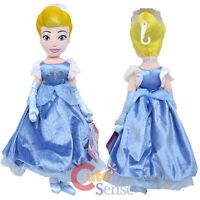 "Disney Princess Cinderella Plush Doll -12"" Soft Stuffed Toy"