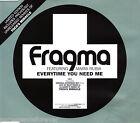 FRAGMA ft MARIA RUBA - Everytime You Need Me (UK 3 Trk CD Single Pt 2)