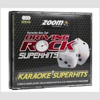 Zoom Karaoke Driving Rock Superhits - 3 Disc Set CDG/CD+G