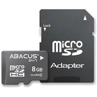 8GB micro SD/SDHC Flash Memory Card for Cell Phone for Samsung/LG/Motorola/HTC