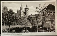 Schmalkalden i. Thür.,Blick zur Stadtkirche,sehr schöne alte Foto Ansichtskarte