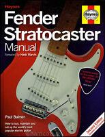 Haynes Fender Stratocaster Manual 2nd Edition Updated & Expanded HARDBACK Strat