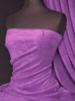 Polar fleece - anti pill washable soft fabric purple
