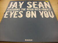 """Jay Sean Feat The Rishi Rich Project Eyes On You 12"""" Vinyl"""