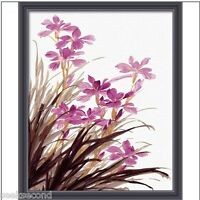 Acrylic Painting by Number Set 50x40cm (20x16'') Orchid JC7046