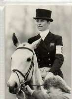 #35 Virginia Leng-elliot GBR  equestrian collector card