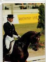 #99 Emile Faurie GBR Dressage equestrian collector card