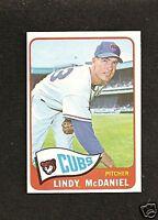 1965 Topps # 244 Lindy McDaniel NM