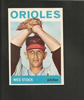 3985* 1964 Topps # 382 Wes Stock NM
