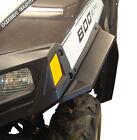 NEW 2011-2014 POLARIS UTV RZR 800 FENDER FLARES OVER FENDERS MUD GUARDS BLACK