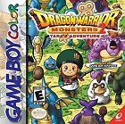 Dragon Warrior Monsters 2: Tara's Adventure (Nintendo Game Boy Color, 2001)