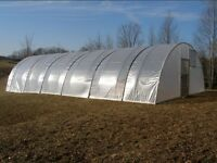 16 x 60 ft Quonset Greenhouse Kit - Hoop House - Cold Frame - High Tunnel