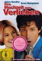 DVD NEU/OVP - Eine Hochzeit zum Verlieben - Adam Sandler & Drew Barrymore