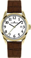 Jacques Lemans Sports Liverpool  Uhr Damen 1-1445 C Edelstahl vergoldet Datumsan