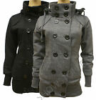 NEW Womens MILITARY Ladies JACKET COAT Black and Charcoal Grey Size 8 10 12 14