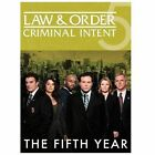 Law  Order: Criminal Intent - The Fifth Year (DVD, 2010, 5-Disc Set)