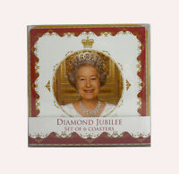 Diamond Jubilee 2012 Collectable pack of 6 Coasters