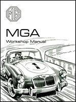 MGA Original MG Workshop Manual MGA 1500 1600 1600 MK II MG31WH NEW