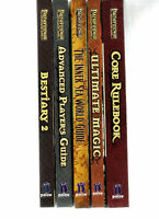 D&D PATHFINDER 3.7E 3E D20 CORE RULE BOOKS HB MULTILIST DUNGEONS & DRAGONS HC