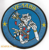 VF-1486 FIGHTING HOBOS F-14 TOMCAT US NAVY PATCH USS NAF NAS PILOT CREW