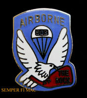US ARMY 503rd Infantry Regiment HAT PIN VIETNAM IRAQ