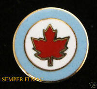 CANADIAN ROUNDEL HAT PIN CANADA ROYAL NAVY AIR FORCE RCAF ARMY TIE TAC AIRCON