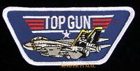 US NAVY TOP GUN TOPGUN PATCH BADGE F-14 TOPGUN MAVERICK ICEMAN USS NAS NAF WOW