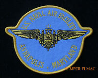 NAF ANNAPOLIS PATCH USS NAS NAVAL AIR FACITITY US NAVY PILOT CREW SOLO GIFT WOW