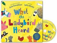 What the Ladybird Heard Book and CD Pack Donaldson  Julia 9780230746527 PA