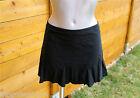 mini falda negra luxe VANNINA VESPERINI talla 38 ETIQUETA valorada en €