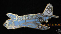 SB2C HELLDIVER LAPEL HAT PIN WW 2 CURTISS US NAVY MARINES ARMY AIR FORCE WING