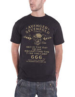 Avenged Sevenfold Seize The Day Death Bat Logo Official Mens New Black T Shirt