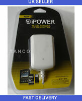 MAINS CAR CHARGER USB DATA FOR IPHONE 4 4G 3G 3GS iPad