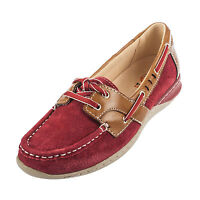 Earth Spirit Women's CHICAGO Suede Boat Shoe