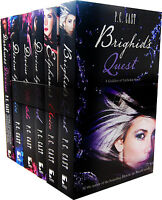 P.C. Cast 6 Books Collection Pack Set Divine Quest Choice Blood Mistake Darkness