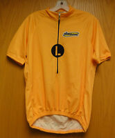Short Sleeve 3/4 zip CYCLING JERSEY - Bright Orange Sizing Sample by Inverse