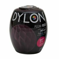 DYLON FABRIC DYE in Burlesque Red for Brilliant & Permanent Results 200g  2450