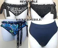 NWT Genuine COCO REEF reversible belted classic bikini swimsuit bottom,S,M,L