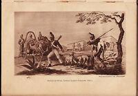 Napoleon Calendar 1812 Photogravure History Memoirs Russia France War 1912