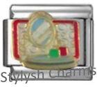 MAKEUP MIRROR ARTIST Enamel Italian Charm 9mm Link-1x NC038 Single Bracelet Link