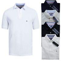 Tommy Hilfiger Herren Polo Poloshirt Shirt S M L XL XXL Polohemd Kurzarm Neu