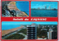 1987 Saluti da LIGNANO Panorama aereo delle Terme