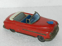 Vintage Friction open convertible Car tin Toy, Made In Japan ?