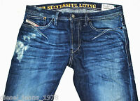 BNWT DIESEL SHIONER 880W JEANS 30X34 100% AUTHENTIC SKINNY FIT TAPERED LEG
