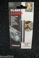 PAIR OF TREND PB28 75.5MM TCT PLANER BLADES BLACK & DECKER SR600 DN750